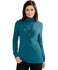 Baur Damen Rollkragen-Shirt blau 36,40,42,44,46,48,50,52,54