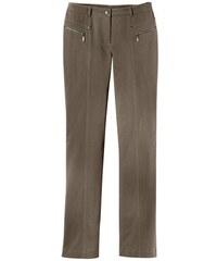 Damen Hose mit optisch streckenden Ziernähte STEHMANN braun 36,38,40,42,44,46,48,50,52,54