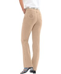 COLLECTION L. Damen Collection L. Jeans in gerader Schnittführung beige 36,38,40,42,44,46,48,50,52,54
