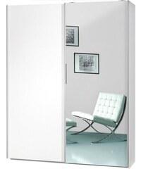 Garderobenschrank Soft Smart 150 cm breit in 2 Tiefen CS Schmal weiß