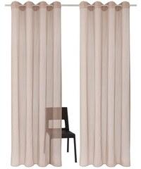 Gardine Xanten (2 Stück) MY HOME natur 1 (H/B: 145/140 cm),2 (H/B: 175/140 cm),3 (H/B: 225/140 cm),4 (H/B: 245/140 cm),5 (H/B: 295/140 cm)