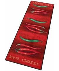 WASH+DRY BY KLEEN-TEX Küchenläufer wash+dry In- und Outdoor Hot Chili waschbar rot 11 (B/L: 75x190 cm),18 (B/L: 75x120 cm),19 (B/L: 60x180 cm)