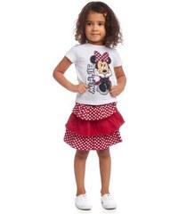 Disney Shirt & Rock mit Rüschen (Set 2-tlg.) für Mädchen Disney weiß 104/110,116/122,128/134,140/146