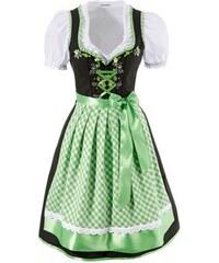 STOCKERPOINT Damen Dirndl mit Rüschen und Stickereien Stockerpoint (3tlg.) grün 34,36,38,40,42,44,46