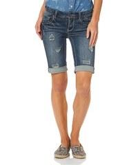Arizona Damen Jeansbermudas blau 34,36,38,40,42,44,46