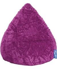 Baur Sitzsack Fluffy Beanbag L lila