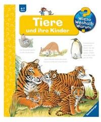 RAVENSBURGER Kinderbuch Tiere und ihre Kinder / Wieso Weshalb Warum