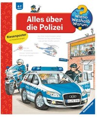 RAVENSBURGER Kinderbuch Polizei / Wieso Weshalb Warum