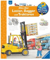 Kinderbuch Laster Bagger und Traktoren / Wieso Weshalb Warum RAVENSBURGER
