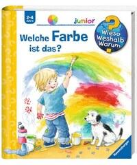 RAVENSBURGER Kinderbuch Welche Farbe ist das / Wieso Weshalb Warum Junior