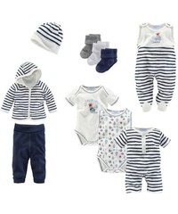 KLITZEKLEIN Klitzeklein Starterpaket (Packung 10-tlg.) für Babys blau