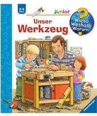 RAVENSBURGER Kinderbuch Unser Werkzeug / Wieso Weshalb Warum Junior