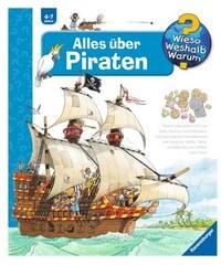 Kinderbuch Alles über Piraten / Wieso Weshalb Warum RAVENSBURGER