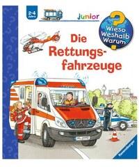 RAVENSBURGER Kinderbuch Die Rettungsfahrzeuge / Wieso Weshalb Warum Junior