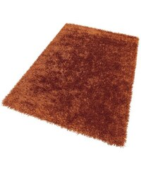 THEKO Hochflor-Teppich Girly Höhe ca. 50mm handgetuftet orange 2 (B/L: 65x135 cm),3 (B/L: 120x180 cm),31 (B/L: 85/155 cm),6 (B/L: 190x290 cm)
