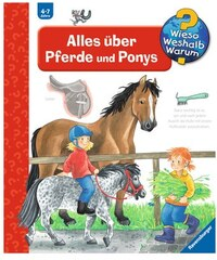 RAVENSBURGER Kinderbuch Alles über Pferde und Ponys / Wieso Weshalb Warum