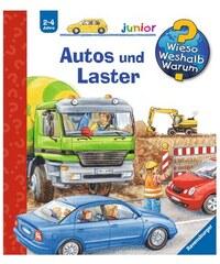 Kinderbuch Autos und Laster / Wieso Weshalb Warum Junior RAVENSBURGER