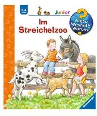 RAVENSBURGER Kinderbuch Im Streichelzoo / Wieso Weshalb Warum Junior
