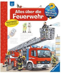 RAVENSBURGER Kinderbuch Alles über die Feuerwehr / Wieso Weshalb Warum