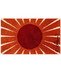 COLANI Badematte 24 Höhe ca. 24 mm rutschhemmender Rücken Grund orange 1 (60x60 cm),4 (70x120 cm),5 (80x140 cm)