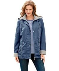 Damen Jacke in Microfaser-Qualität Baur blau 38,40,42,44,46,48,50,52,54,56