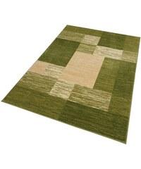 MY HOME Teppich Melvin gewebt grün 1 (B/L: 60x90 cm),2 (B/L: 70x140 cm),3 (B/L: 120x180 cm),4 (B/L: 160x230 cm),6 (B/L: 200x290 cm),7 (B/L: 240x320 cm)