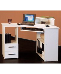 Schreibtisch 4505-02 Baur weiß