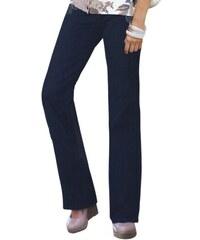 CRÉATION L Damen Création L Jeans mit Metallplättchen-Verzierung blau 19,20,21,22,23,24,25
