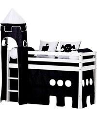 Kinder Halbhohes Bett Pirat (3-tlg. ) HOPPEKIDS