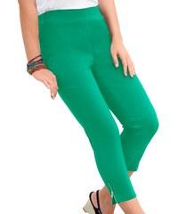 Damen 7/8-Hose in aktueller Bengalin Qualität Adelina grün 36,38,40,42,44,46,48,50,52,54