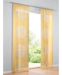 Heine Home Schiebevorhang gelb ca. 145/60 cm,ca. 175/60 cm,ca. 225/60 cm,ca. 245/60 cm