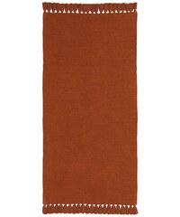 B.C. BEST CONNECTIONS Chenille-Teppich orange 1 - ca. 60/120 cm,2 - ca. 70/140 cm,3 - ca. 90/160 cm,4 - ca. 120/180 cm,5 - H/B/T 2x ca. 70/140-70/330 cm