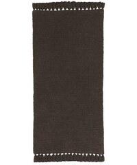 Chenille-Teppich B.C. BEST CONNECTIONS braun 1 - ca. 60/120 cm,2 - ca. 70/140 cm,3 - ca. 90/160 cm,4 - ca. 120/180 cm,5 - H/B/T 2x ca. 70/140-70/330 cm