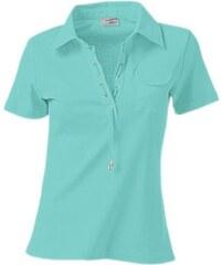Damen Poloshirt B.C. BEST CONNECTIONS blau 34,36,38,40,42,44,46,48,50,52