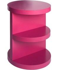 Heine Home Beistelltisch pink H/Ø ca. 50/40 cm