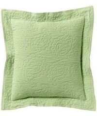 Heine Home Kissenhülle grün ca. 40/40 cm, 2er Set,ca. 80/80 cm, einzeln