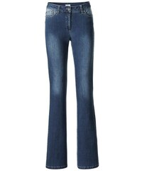 Damen Bodyform-Bootcut-Jeans ASHLEY BROOKE blau 17,18,19,20,21,22,23,24,25,26