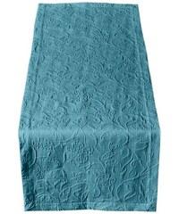 PICHLER Tischläufer blau 1 - ca. 50/150 cm,2 - ca. 50/260 cm