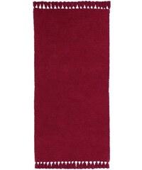 Chenille-Teppich B.C. BEST CONNECTIONS rot 1 - ca. 60/120 cm,3 - ca. 90/160 cm,4 - ca. 120/180 cm,5 - H/B/T ca. 70/140-70/330 cm