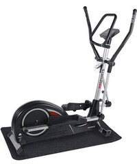 RBSPORTS Crosstrainer-Ergometer-Set inkl. Matte RB-Sports schwarz Crosstrainer-Ergometer-Set