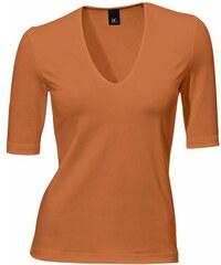 B.C. BEST CONNECTIONS Damen V-Shirt orange 34,36,38,40,42,44,46,48