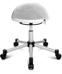 Fitness-Hocker Sitness Half Ball TOPSTAR weiß
