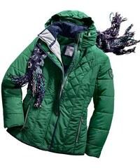 Damen Wega Fashion WEGA FASHION Diese Jacke aus pflegeleichter Microfaser hat viel zu bieten WEGA FASHION grün 36,38,40,42,44,46,48,50,52,54