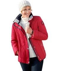 WEGA FASHION Damen Wega Fashion WEGA FASHION Diese Jacke aus pflegeleichter Microfaser hat viel zu bieten rot 18,19,20,21,22,23,24,25,26