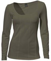 Damen Carré-Shirt Langarm PATRIZIA DINI grün 34,36,38,40,42,44,46,48