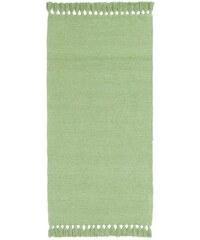 Chenille-Teppich B.C. BEST CONNECTIONS grün 1 - ca. 60/120 cm,2 - ca. 70/140 cm,3 - ca. 90/160 cm,4 - ca. 120/180 cm,5 - H/B/T ca. 70/140-70/330 cm