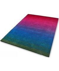 Teppich handgearbeitet KINZLER bunt 1 (B/L: 70x120 cm),2 (B/L: 80x150 cm),4 (B/L: 160x230 cm),6 (B/L: 200x290 cm)