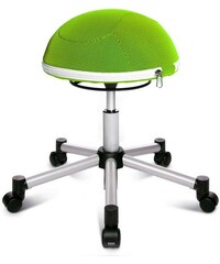 TOPSTAR Fitness-Hocker Sitness Half Ball grün