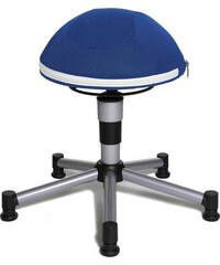 TOPSTAR Fitness-Hocker Junior Half Ball blau