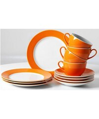 Tafelservice (8tlg.) RITZENHOFF & BREKER orange